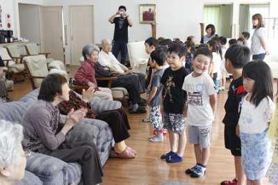 平成29年7月6日(木) わとな訪問