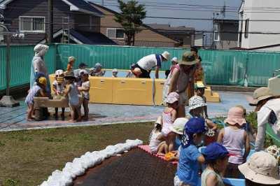 平成29年7月13日(木) 水遊び
