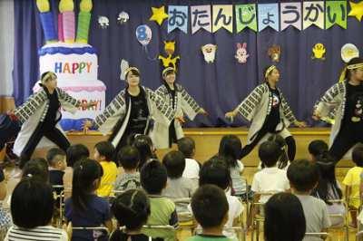平成29年8月22日(火) 誕生会