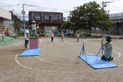 平成29年8月23日(水) プール遊び&運動会練習