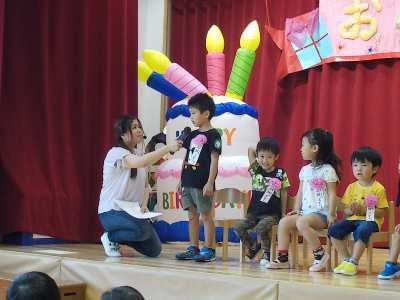 平成29年8月25日(金) 誕生会
