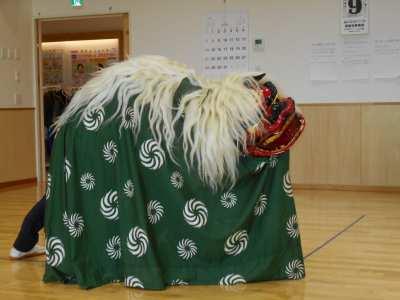 平成30年1月9日(火) 新春獅子舞公演