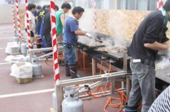 6月8日(金)ジンギスカン・焼きそば昼食会
