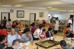 6月8日(金)ジンギスカン・焼きそば昼食会 048