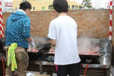 平成27年6月4日(木)ジンギスカン・焼きそば昼食会