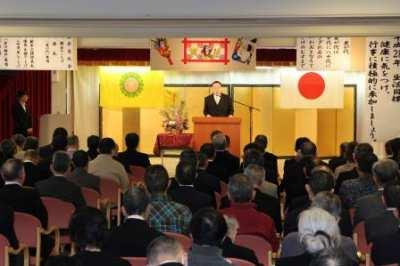 平成28年1月4日(月)新年交礼会