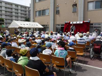 平成29年7月27日 夏季学習室活動 明和園祭