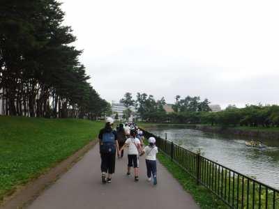 平成29年8月7日 夏季学習室活動 五稜郭公園散策