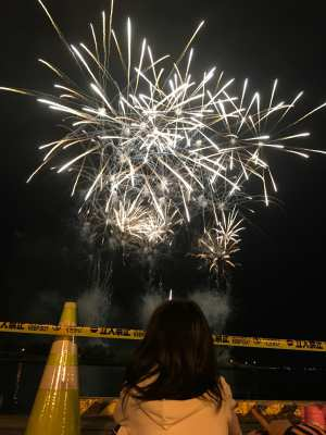 平成29年8月1日 夏季学習室活動 花火大会