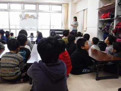 平成30年1月16日 冬季学習室活動 誕生会