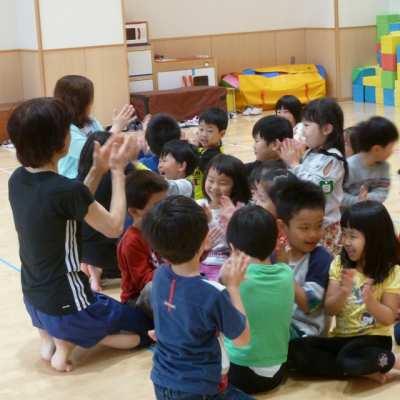 平成29年6月1日(木) 体育指導(5歳児)