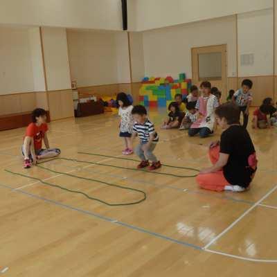 平成29年6月29日(木) 体育指導(4歳児)
