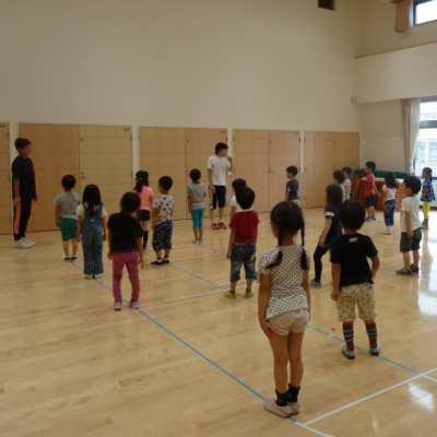 平成29年7月12日(水)体育指導(5歳児)