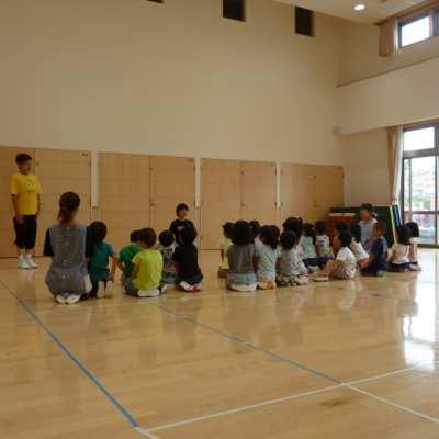 平成29年7月25日(火)体育指導(4歳児)