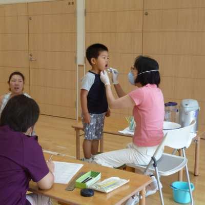平成29年7月27日(木)歯科検診