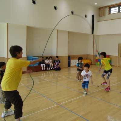 平成29年8月15日(火)体育指導(5歳児)