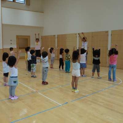平成29年8月16日(水)体育指導(4歳児)