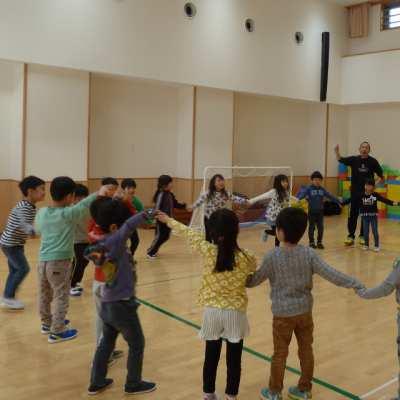 平成30年1月16日(火) ボール指導(5歳児)