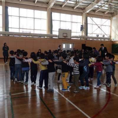 平成30年2月7日(水)中部小学校一日体験入学(5歳児)